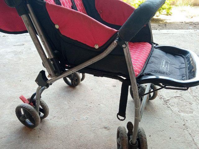 Carrinho De Bebê Flip Multikids até 15Kg - Foto 4