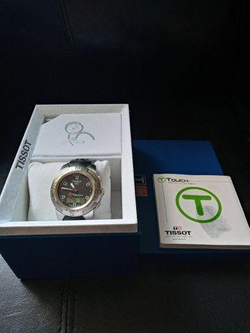 Relógio Tissot T-touch-ref. T33.1.598.51 /modelo: Z 252/352 - Foto 2