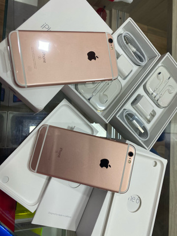 iPhone 6s 128gb rose lacrado garantia lona física