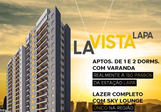 Apartamento à Venda com 1 Quarto e Varanda em Rua Guaicurus em frente da estação- Lapa, SP