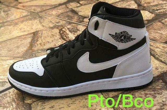 Basqueteiras Nike Jordan Air ( 38 ao 43 ) -- 2 Cores Disponíveis  - Foto 2