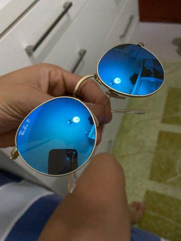 Ray ban polarizado azul original
