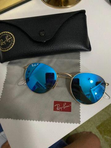 Ray ban polarizado azul original - Foto 2