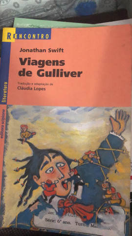 Livro viagens de Gulliver