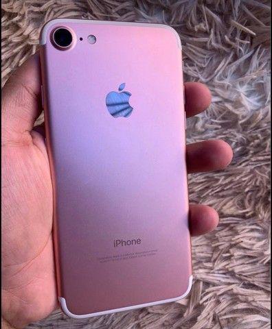 iPhone 7 32Gb iCloud livre desbloqueado biometria ok  - Foto 2