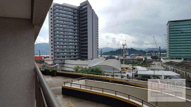 Conjunto, 43 m² - venda por R$ 180.000,00 ou aluguel por R$ 1.800,00/mês - Valongo - Santo - Foto 4