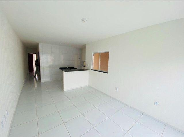 JP casa nova com 89m² com 2 quartos 2 banheiros a 15 minutos de messejana - Foto 5