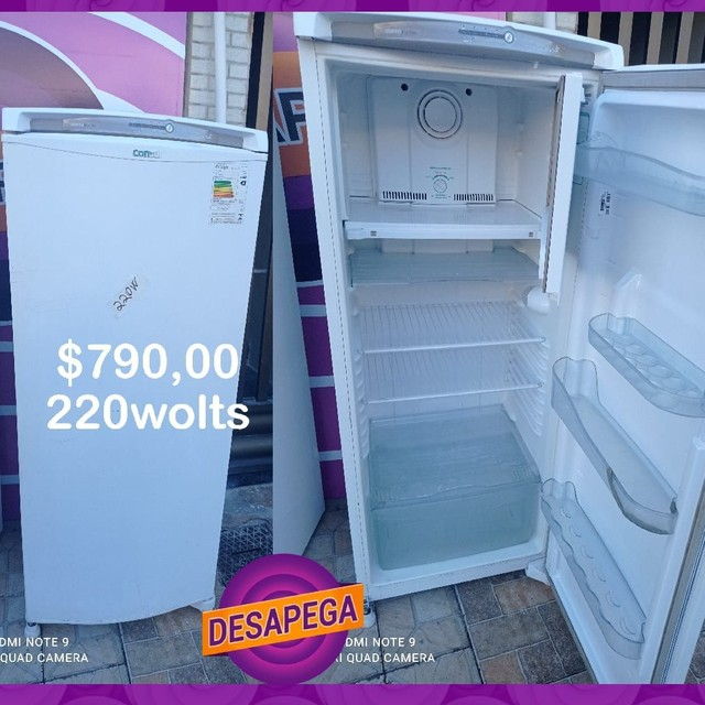 Geladeira Frost Free 220v top chame no zap