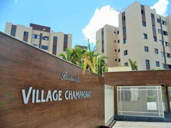 Apartamento em Amaro, Londrina/PR de 66m² 3 quartos à venda por R$ 185.000,00