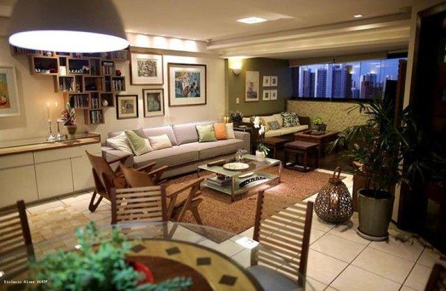 Apartamento para Venda em Fortaleza, Meireles, 4 dormitórios, 3 suítes, 5 banheiros, 3 vag - Foto 2