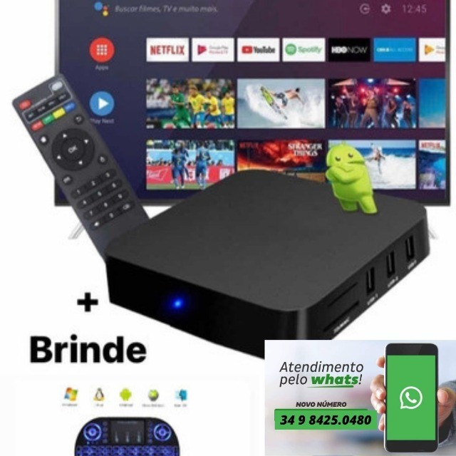 Aparelho Para Transformar Tv Em Smart 8 Ram + 128gb 5g - 4k