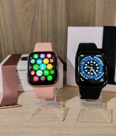 Smartwatch IWO W26+ PLUS + brinde pulseira metálica
