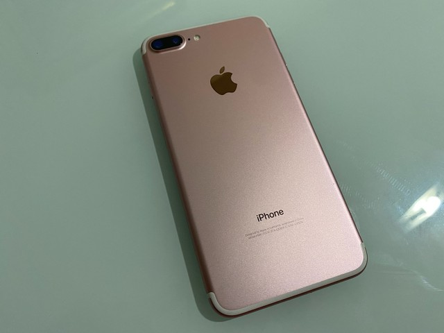 12x Sem Juros! iPhone 7 Plus 256GB Rose estado de novo, sem marcas