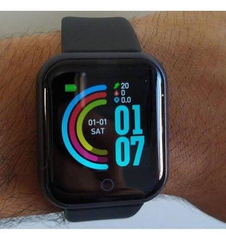 Smartwatch D20 Preto - Foto 2