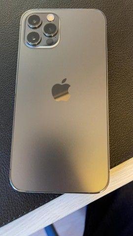 Iphone 12 PRO, 128GB Grafite e acessórios  - Foto 3
