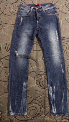 Calça jeans infantil ex-planet