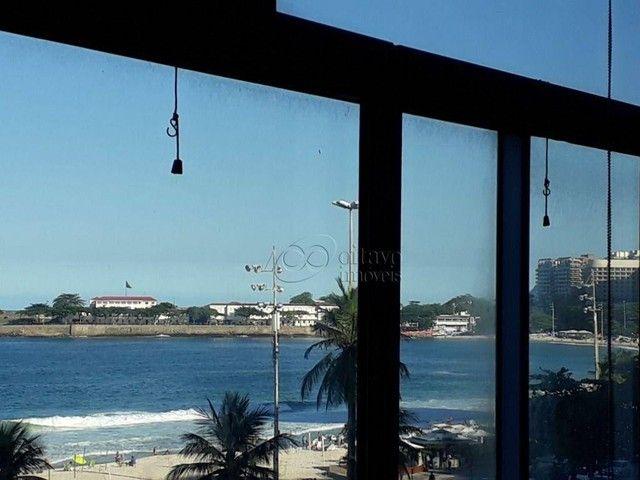 Atlantica Posto 5, vista panoramica 200m2 reformado salão duplo 3 quartos suite dependenci - Foto 8