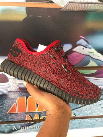Adidas YZY Vermelho - 70,00 - NOSSO ZAP - (9 9 9 2 0 - 2 9 9 5)!<br><br> - Foto 5