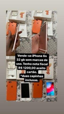 iPhone 6s 32 gb tenho nota fiscal - Foto 5
