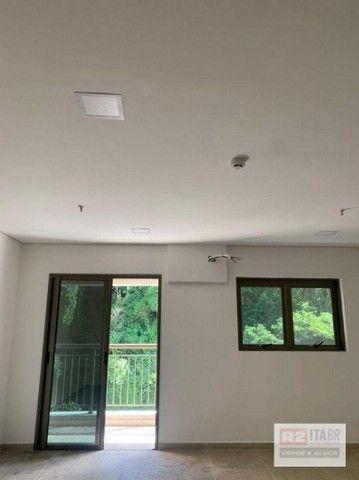 Conjunto, 43 m² - venda por R$ 175.000 ou aluguel por R$ 1.500/mês - Valongo - Santos/SP - Foto 8