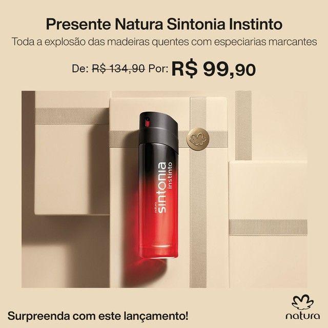 Natura Sintonia Instinto (Lançamento)