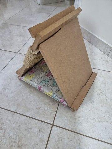 Casinha para Gatos com arranhador  - Foto 3