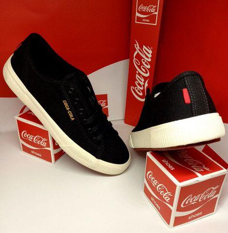 Tênis Coca-Cola apollo preto - Foto 2