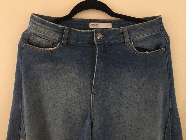 Calça Jeans Pantalona - Foto 3