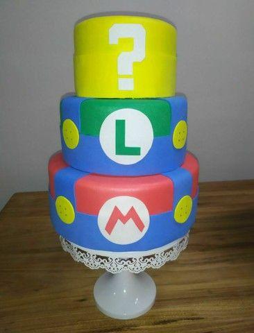 Bolo fake Super Mario (Mario bross)