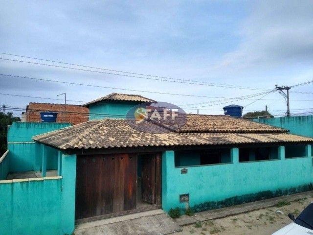 K- Casa Pronta com 2 quartos na rua do DPO em Unamar - Cabo Frio!