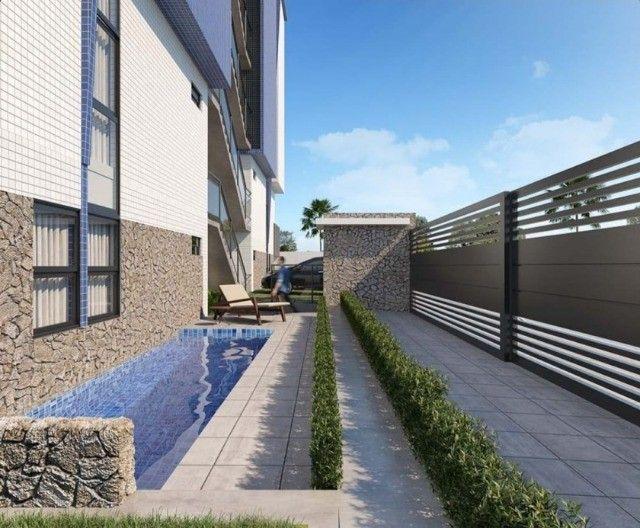 Apartamento no Bancários, alto padrão. 02 quartos com varanda - Foto 3