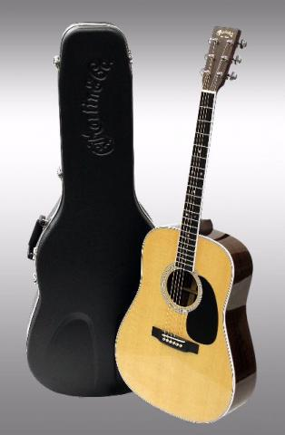 Violão Martin Standard Series D-35 Dreadnought Solid Spruce Top Acoustic Guitar w/Com Case