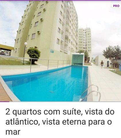 Apartamento em jacaraipe condomínio vista do Atlântico