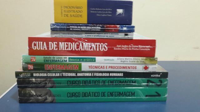 Vendo livros de Enfermagem Novos