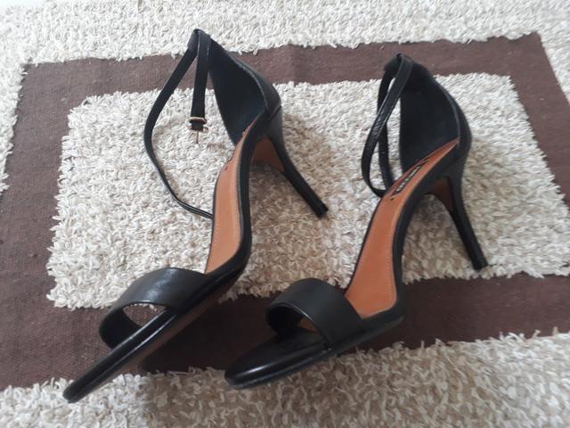 540e762d4d Sandália arezzo preto em couro - Roupas e calçados - Candeias ...