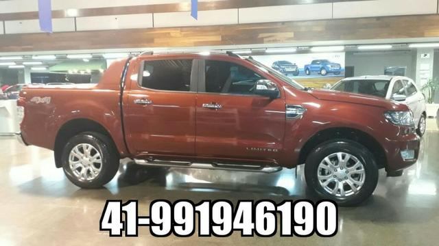 Ford Ranger Cab Dupla Limited 3.2 4x4 Diesel Automatica