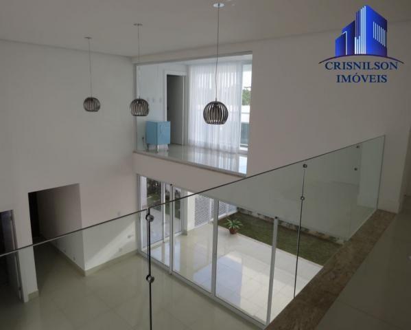 Casa à venda alphaville salvador ii, nova, r$ 2.400.000,00, piscina, espaço gourmet! - Foto 8