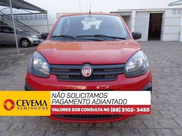 Fiat Uno Drive 1.0 - Vermelho - Foto 3