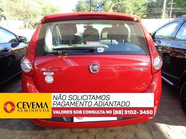 Fiat Palio Attractive 1.4 - Vermelho - Foto 5
