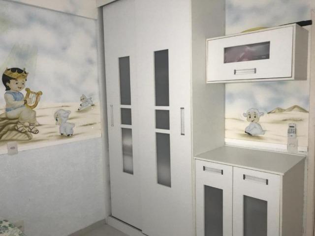 AP1494 Terraço dos Pássaros, apartamento com 3 quartos, 2 vagas, lazer, Lago Jacarey - Foto 8