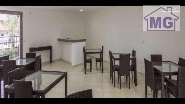 Apartamento com 2 dormitórios para alugar por r$ 850/mês - glória - macaé/rj