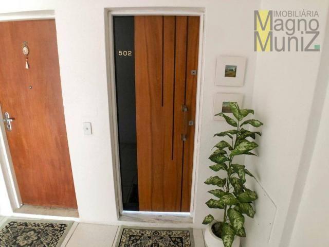 Apartamento projetado com 3 dormitórios, 2 vagas, à venda, 110 m², por r$ 275.000 - papicu - Foto 2