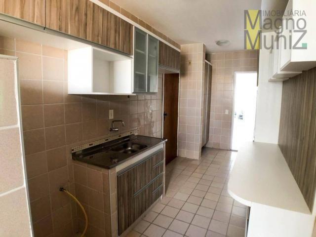 Apartamento projetado com 3 dormitórios, 2 vagas, à venda, 110 m², por r$ 275.000 - papicu - Foto 8