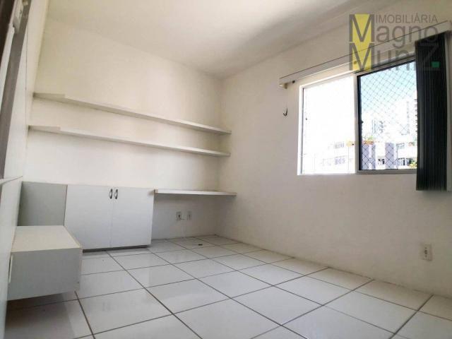 Apartamento projetado com 3 dormitórios, 2 vagas, à venda, 110 m², por r$ 275.000 - papicu - Foto 15