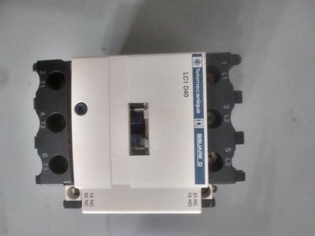 Contator Telemecanique Lc1d40m7 18.5kw - Foto 4