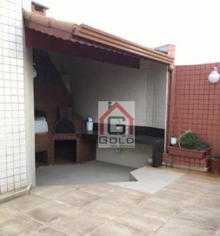 Apartamento para alugar, 195 m² por R$ 3.420,00/mês - Santa Paula - São Caetano do Sul/SP - Foto 5