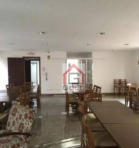 Apartamento para alugar, 195 m² por R$ 3.420,00/mês - Santa Paula - São Caetano do Sul/SP - Foto 6
