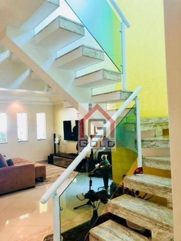 Sobrado com 3 dormitórios à venda, 195 m² por R$ 850.000 - Parque das Nações - Santo André - Foto 8