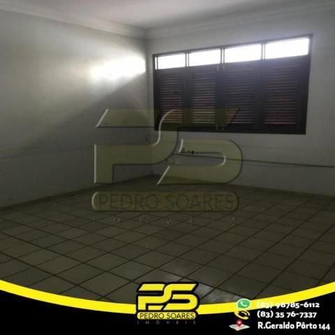 Casa com 4 dormitórios para alugar por R$ 7.000,00/mês - Tambaú - João Pessoa/PB - Foto 16