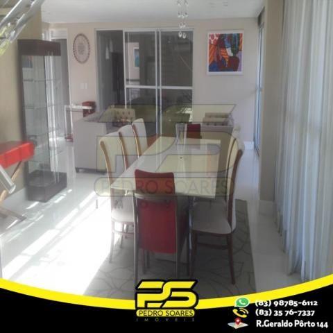 Casa com 4 dormitórios à venda, 460 m² por R$ 2.200.000,00 - Altiplano Cabo Branco - João  - Foto 2